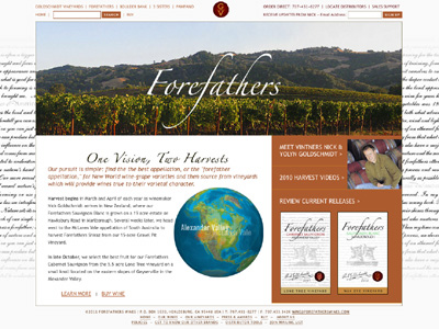 Forefathers Wines